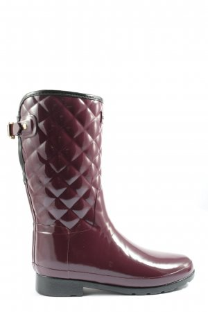 Hunter Gummistiefel rot Casual-Look