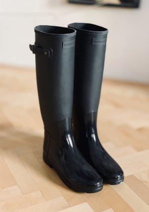 Hunter Gummistiefel Stiefel Regenschuhe Regenstiefel schwarz 39 NEU