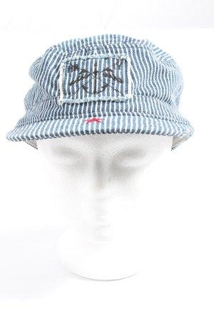 Hurley Casquette plate motif rayé style décontracté