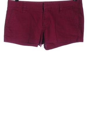 Hurley Pantaloncino di jeans rosa stile casual