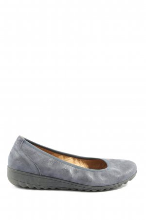 Hush Puppies faltbare Ballerinas hellgrau Casual-Look