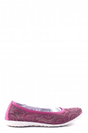 Hush Puppies faltbare Ballerinas pink Casual-Look