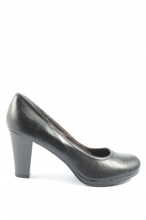Hush Puppies Hochfront-Pumps schwarz Casual-Look