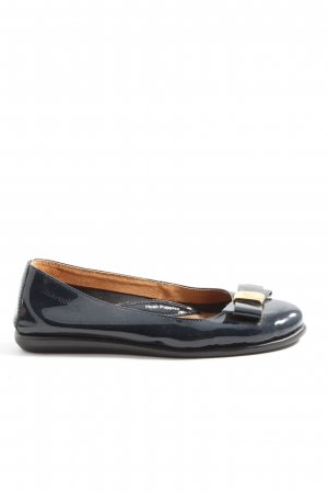 Hush Puppies Klassische Ballerinas blau Business-Look