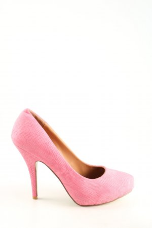 Hush Puppies Plateau-Pumps pink Business-Look