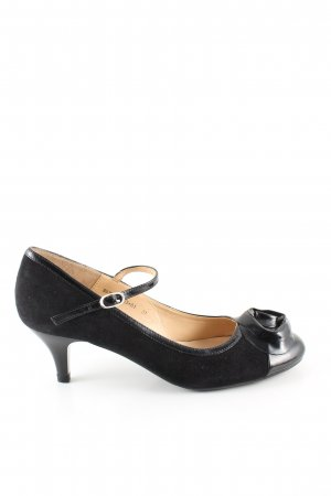 Hush Puppies Riemchenpumps schwarz Casual-Look