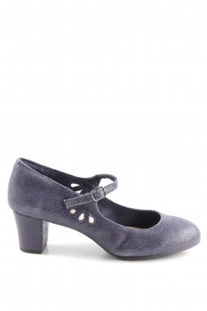 Hush Puppies Riemchenpumps lila Elegant