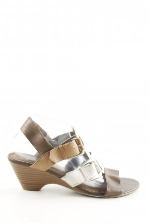Hush Puppies Wedges Sandaletten mehrfarbig Casual-Look