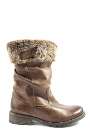 Hush Puppies Winter Boots brown casual look
