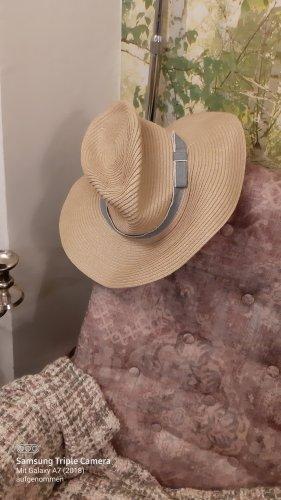 keine Sombrero de paja beige