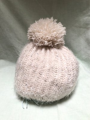 Woolen Hat natural white