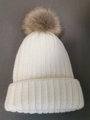 1982 Bonnet en crochet blanc