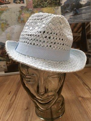 Reserved Sombrero de ala ancha azul bebé-azul celeste