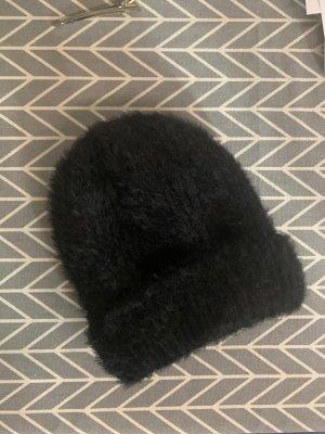 Unbekannte Marke Wollen hoed zwart