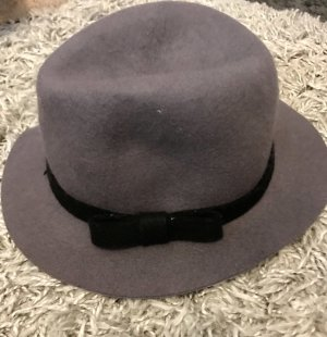 Felt Hat grey brown