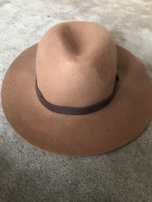 H&M Felt Hat brown-beige