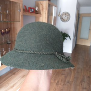 Felt Hat green grey