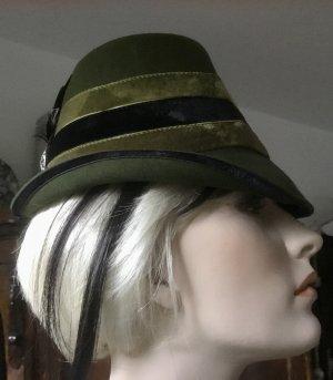 Unbekannte Marke Chapeau feutre multicolore