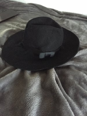 Vero Moda Vilten hoed zwart
