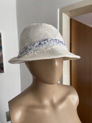 Cappello parasole bianco sporco