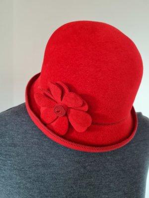 MAYSER Sombrero acampanado rojo