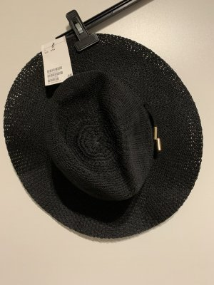 H&M Sombrero de ala ancha negro