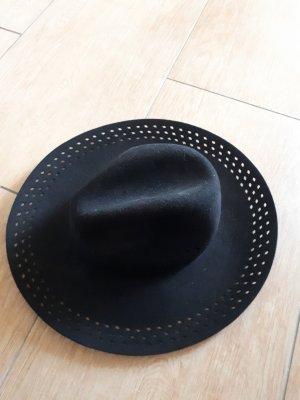 Asos Wełniany kapelusz czarny Wełna