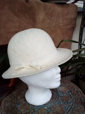 Vintage Safari Hat cream