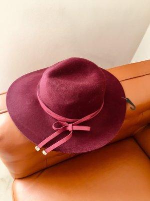 Felt Hat bordeaux