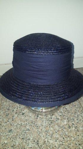 C&A Sombrero de paja azul oscuro