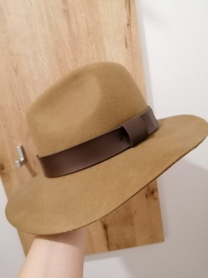H&M Woolen Hat brown-cognac-coloured