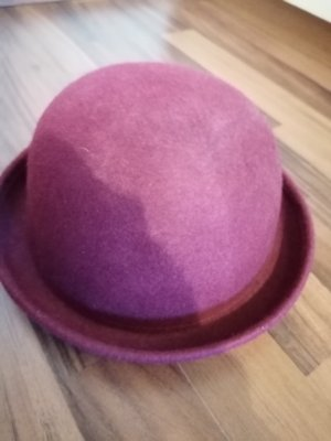 H&M Chapeau melon bordeau