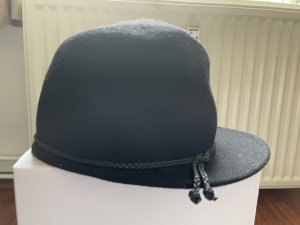 Ferruccio Vecchi Chapeau en feutre noir laine