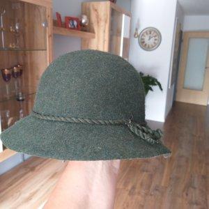 Vilten hoed groen-grijs