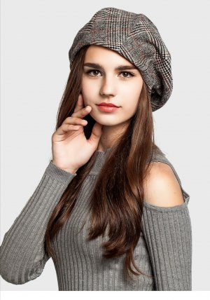 Fabric Hat grey