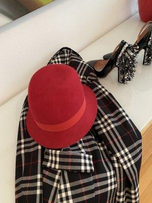 Hugo Boss Felt Hat red