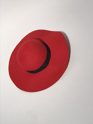C&A Felt Hat red