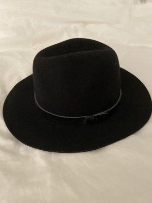 H&M Chapeau en laine noir laine