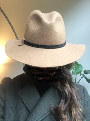 Marzi Firenze Cappello di lana beige-color cammello