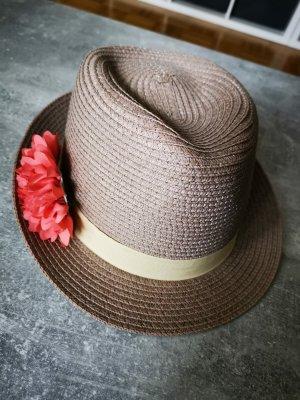 s.Oliver Chapeau de paille beige-rose
