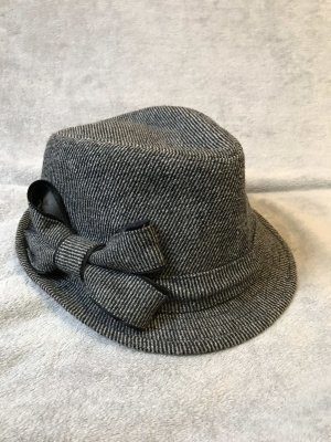 keine Sombrero de copa gris-gris oscuro Poliéster