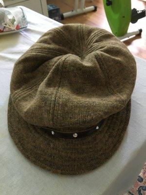 Sombrero acampanado color bronce-marrón-negro Algodón