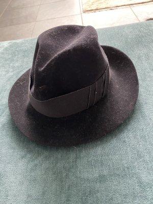 Mühlbauer Wełniany kapelusz czarny