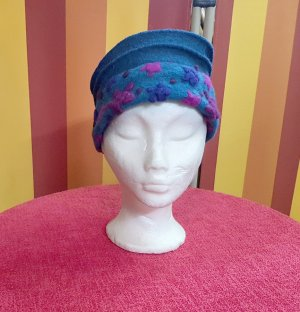 Woolen Hat multicolored wool