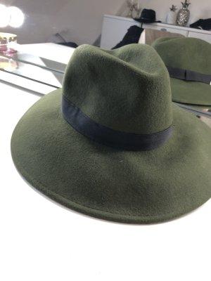 H&M Chapeau à larges bords kaki