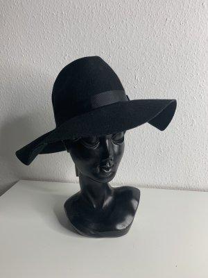 Vero Moda Chapeau en feutre noir