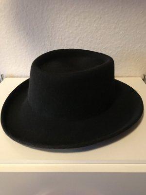 Chapeau noir laine