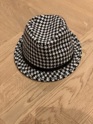 More & More Wollen hoed zwart-wit