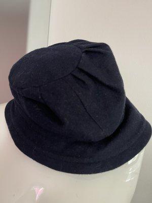 Diefenthal Sombrero de fieltro azul oscuro