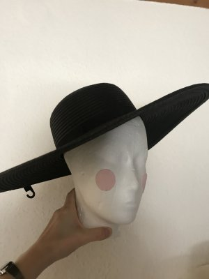 H&M Straw Hat black